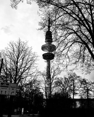 Fernsehturm in Hamburg by Adam Amar