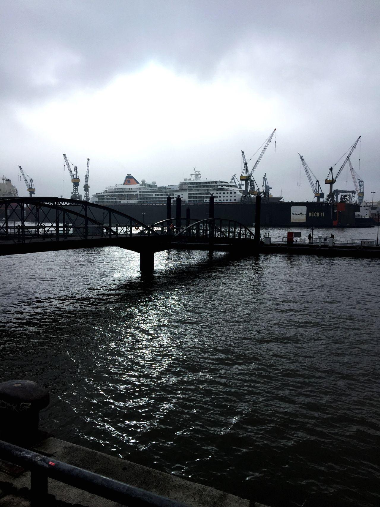 Schiff Hamburg Harbour Hamburger Hafen