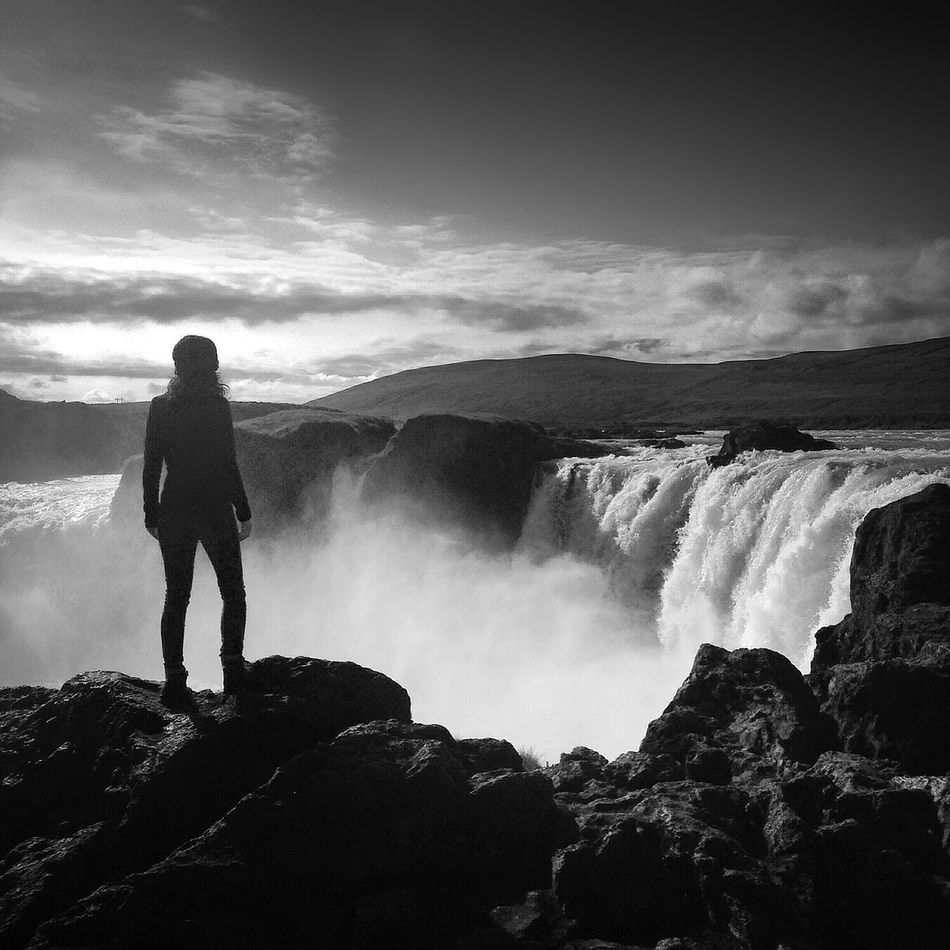 Beautiful stock photos of waterfall, Beauty In Nature, Cliff, Day, Full Length