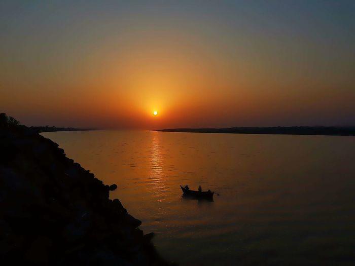 At narmada river Sunset First Eyeem Photo Under River Thames