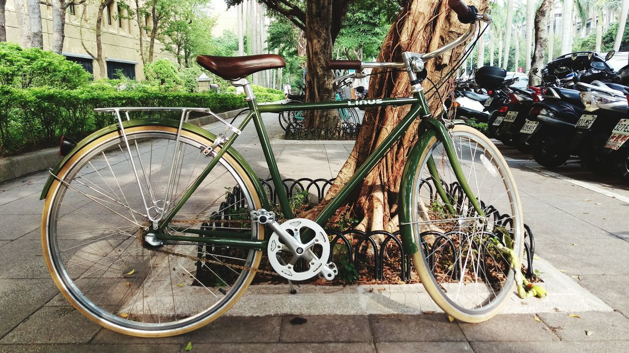 Starting A Trip Queuing Sightseeing Streetphotography Super Retro Bike Bicycle Vintage Classic Bike Life