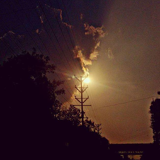 सुर्यास्त Punediaries LastDay Newbegining MyPhotography