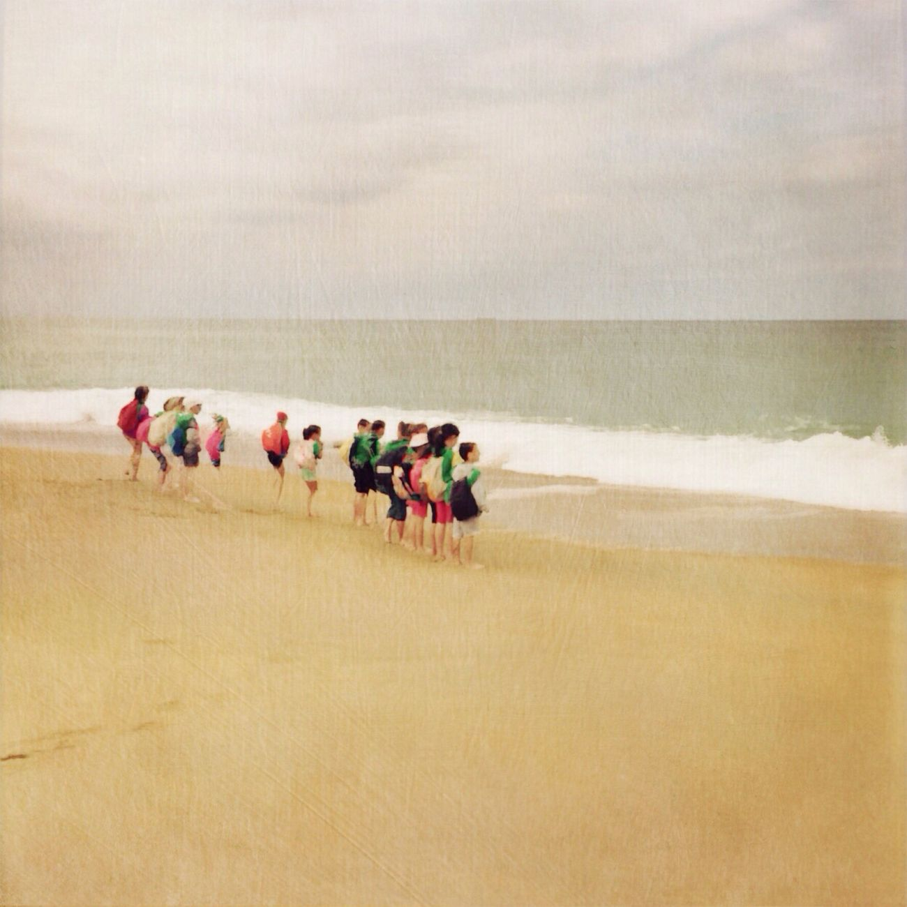 BYOPaper! Sand Beach Running Nature Outdoors Sea Childhood Children Photography Oceanside Happiness Real People Domestic Animals Day Sky Scenics Large Group Of People Water Beauty In Nature