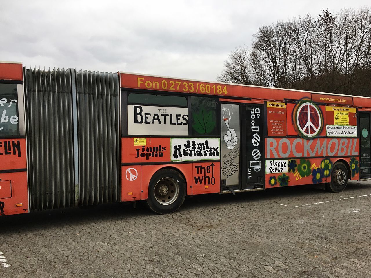 Red Color Bus Woodstock Musiclovers Oldbusesarebetter Artists Rocknroll