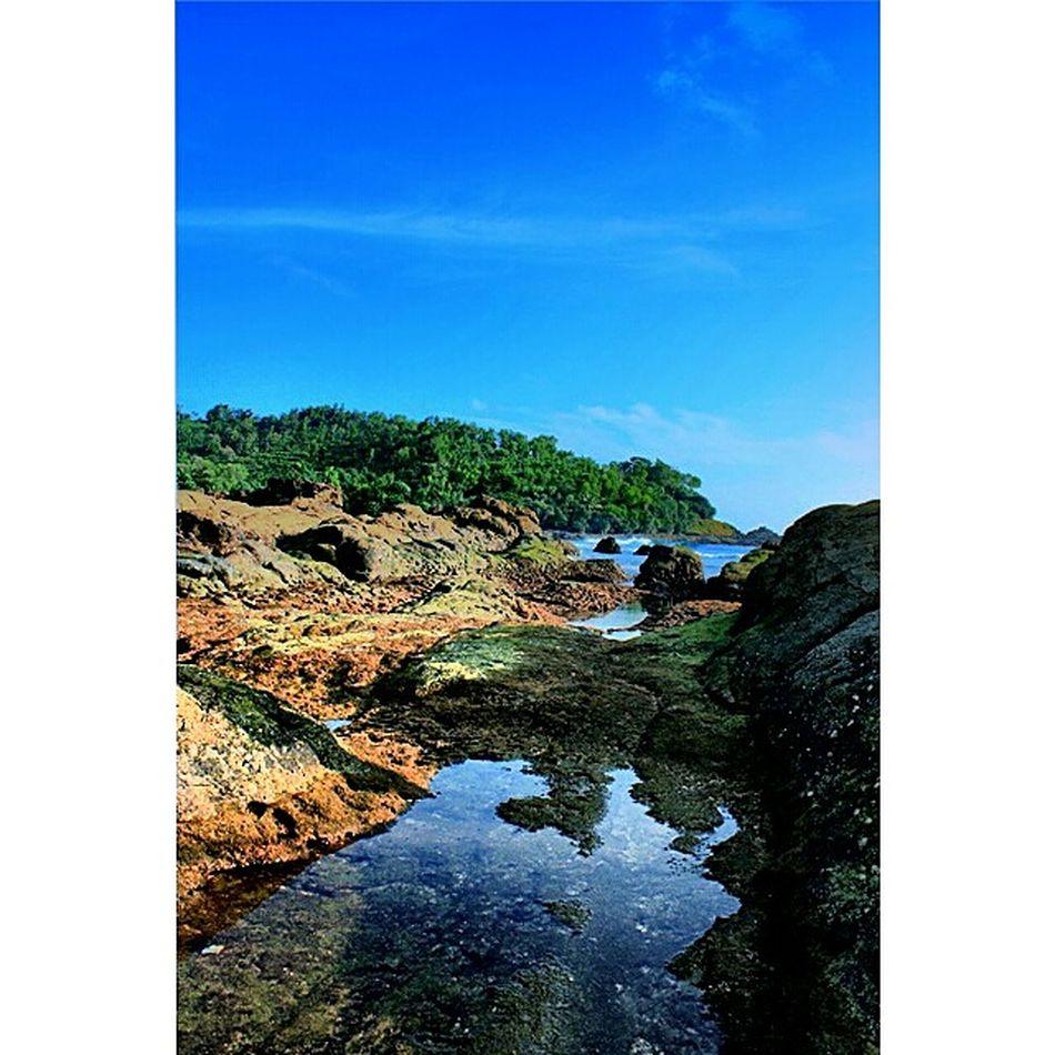 king of rock from Yogyakarta. Visityogya Klikon Landscape Beach
