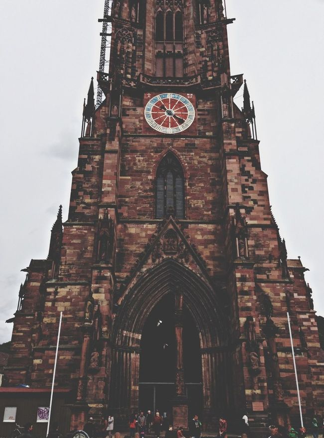 Architecture Traveling Clock Church