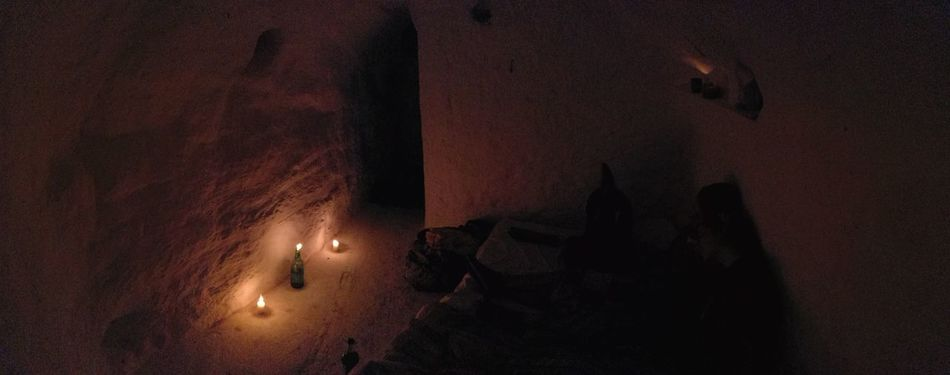 Dark Indoors  Illuminated Uniqueness Vintage Dark Photography Smooth Cave Cave House Indoors  Inside Cave Room Adapted To The City