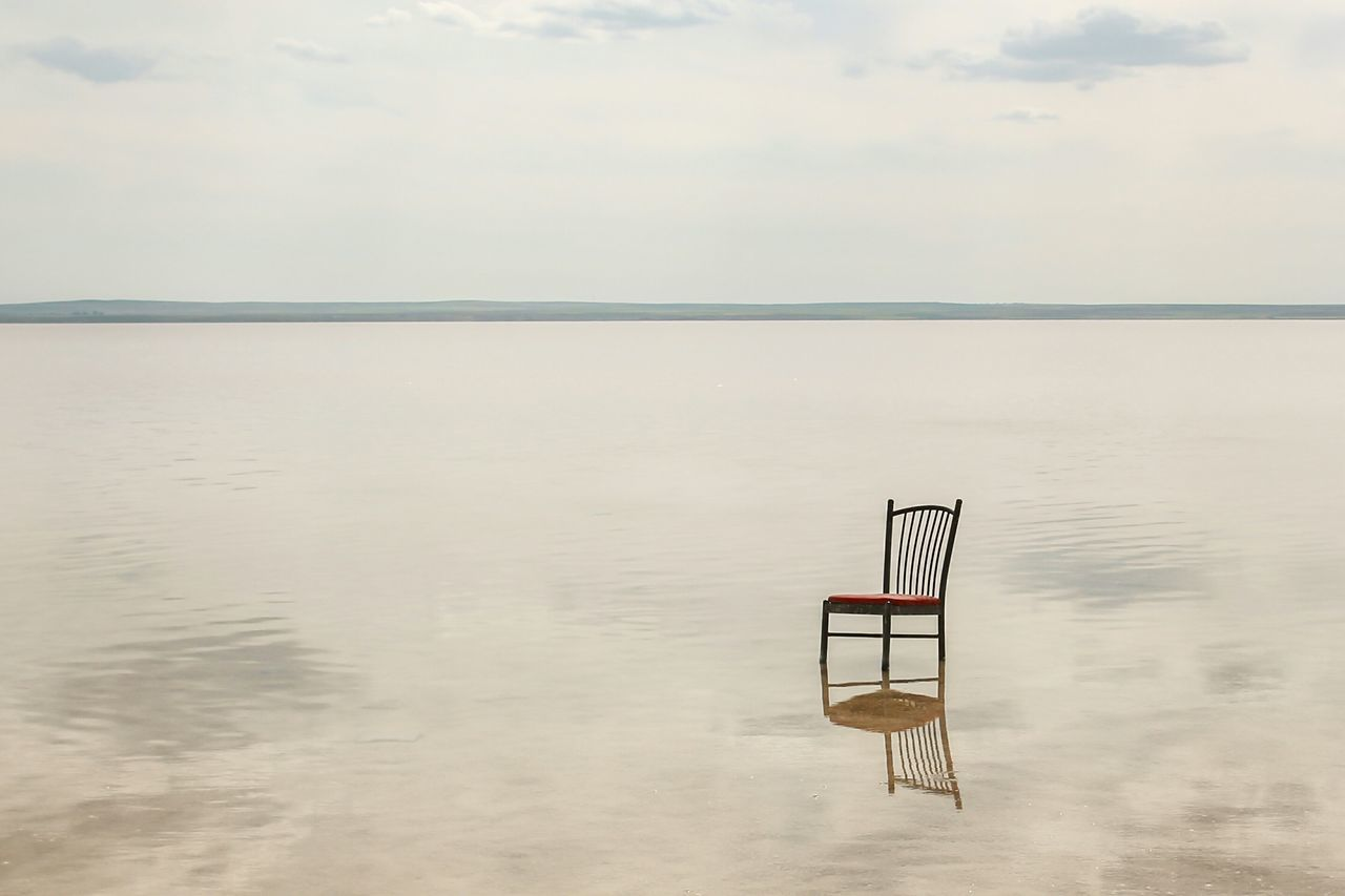 Beautiful stock photos of lake, Absence, Cloud - Sky, Copy Space, Day