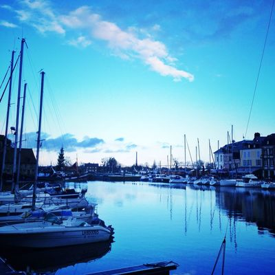 Going sailing at Port d'Honfleur by Cecile_and_co