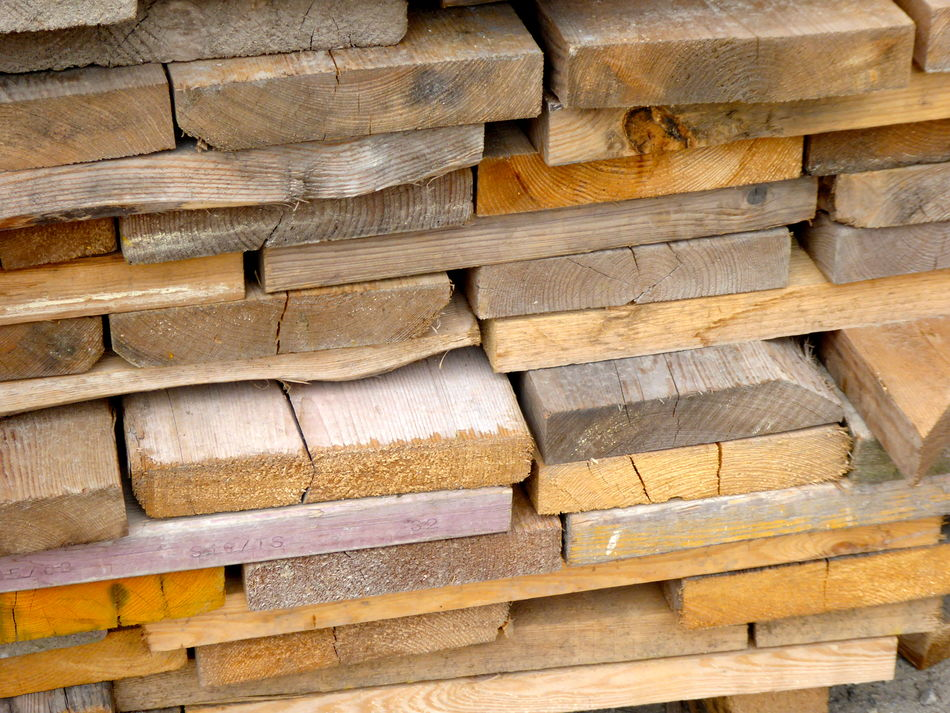 Backgrounds Building - Activity Building Materials Building Materials Wood Building Site Close-up Ends Of Wooden Planks Full Frame Gerüstbau Holz Bretter In Berlin Germany Material Natural Wooden Planks No People Outdoors Pattern Scaffold Planks Scaffolding Materials Stack Stack Of Wooden Planks Timber