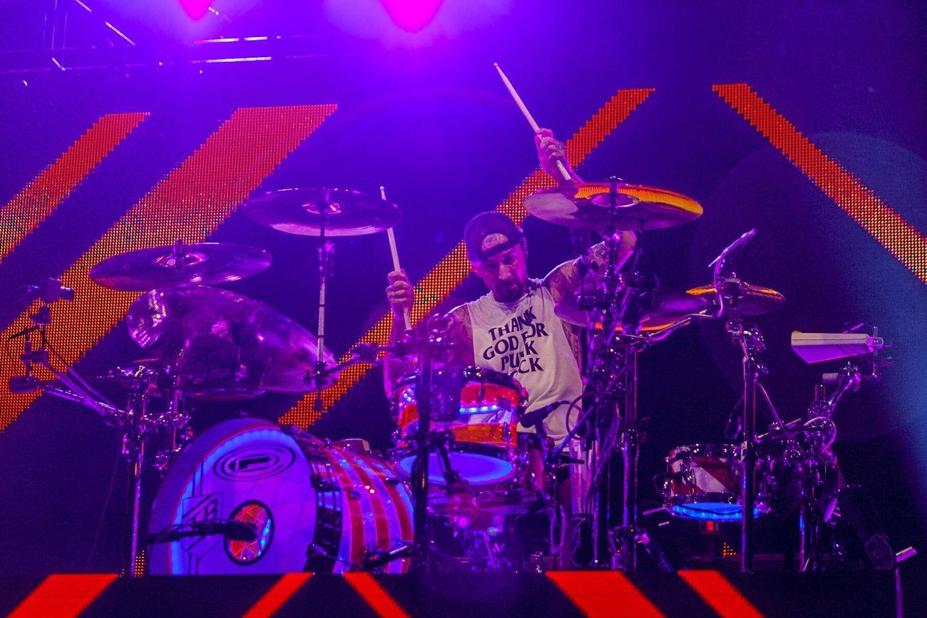Blink-182 Blink182 Travis Barker Concert Live Music Music Drums Tampa Light Stage Music Festival