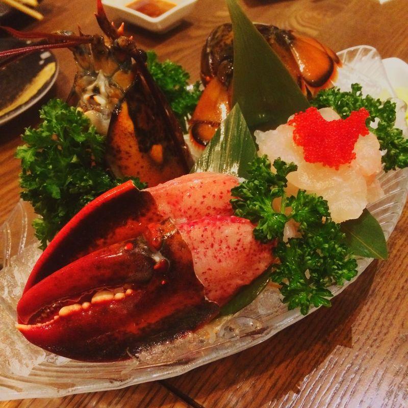Sashimi  Lobster