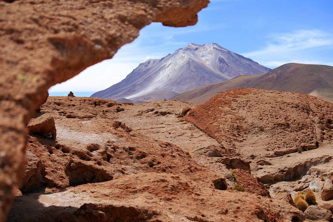 Volcano Ollagüe, Bolivia . Volcano Volcanoes Nature EyeEm Nature Lover Traveling Travel Travel Photography Bolivia Check This Out From My Point Of View