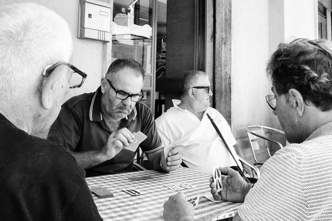 Monochrome Photography Men Playing Cards The Essence Of Real People Street Captured Moment Street Photo Real People Street Photography Streetphotographer Capture The Moment Street Scenes Streetphoto Black And White Black And White Photography Bnw_captures People Around You Card Game Outside