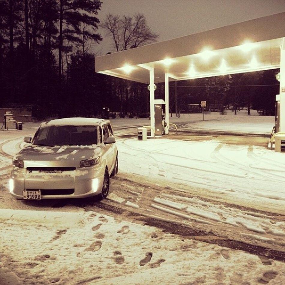 Lovely. Snow Xb  Scion  Raleigh scionxb