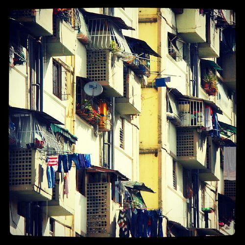 Building Caracas Venezuela Blocks Caricuao Bloque