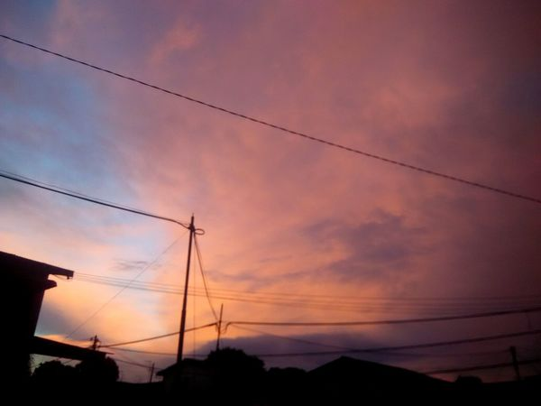 Sunset Cable Electricity  Dusk Moody Sky Outdoors Silhouette Power Line  Cloud - Sky No People Scenics Electricity Pylon Technology Sky Night Beauty In Nature Nature