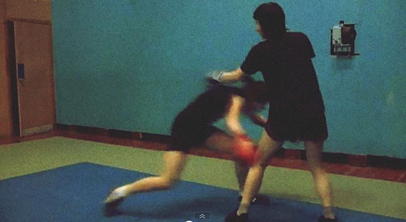 Sparring Girl Fight