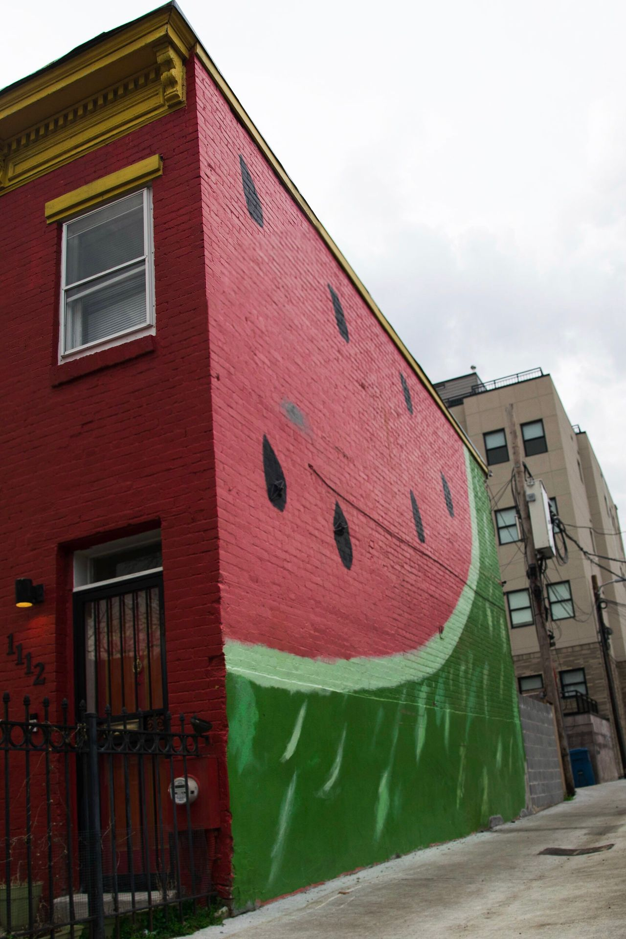 Millennial Pink Architecture Built Structure Outdoors Watermelon Fruit Colorful