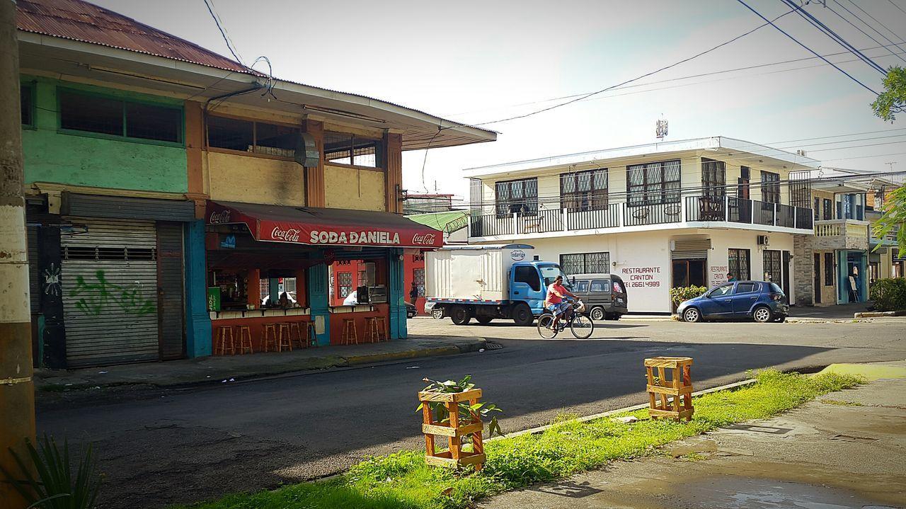 Traveling EyeEm Best Shots Costa Rica Puntarenas Port Town Soda People Watching People Taking Photos Colour Of Life