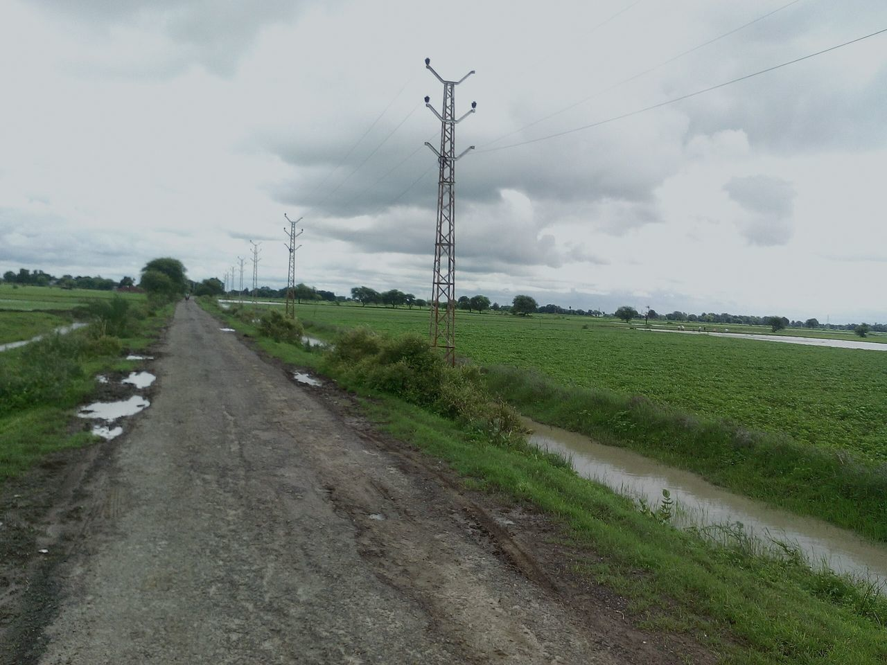 cable, field, connection, day, the way forward, electricity pylon, outdoors, no people, electricity, sky, nature, landscape, rural scene, grass, road, fuel and power generation, telephone line