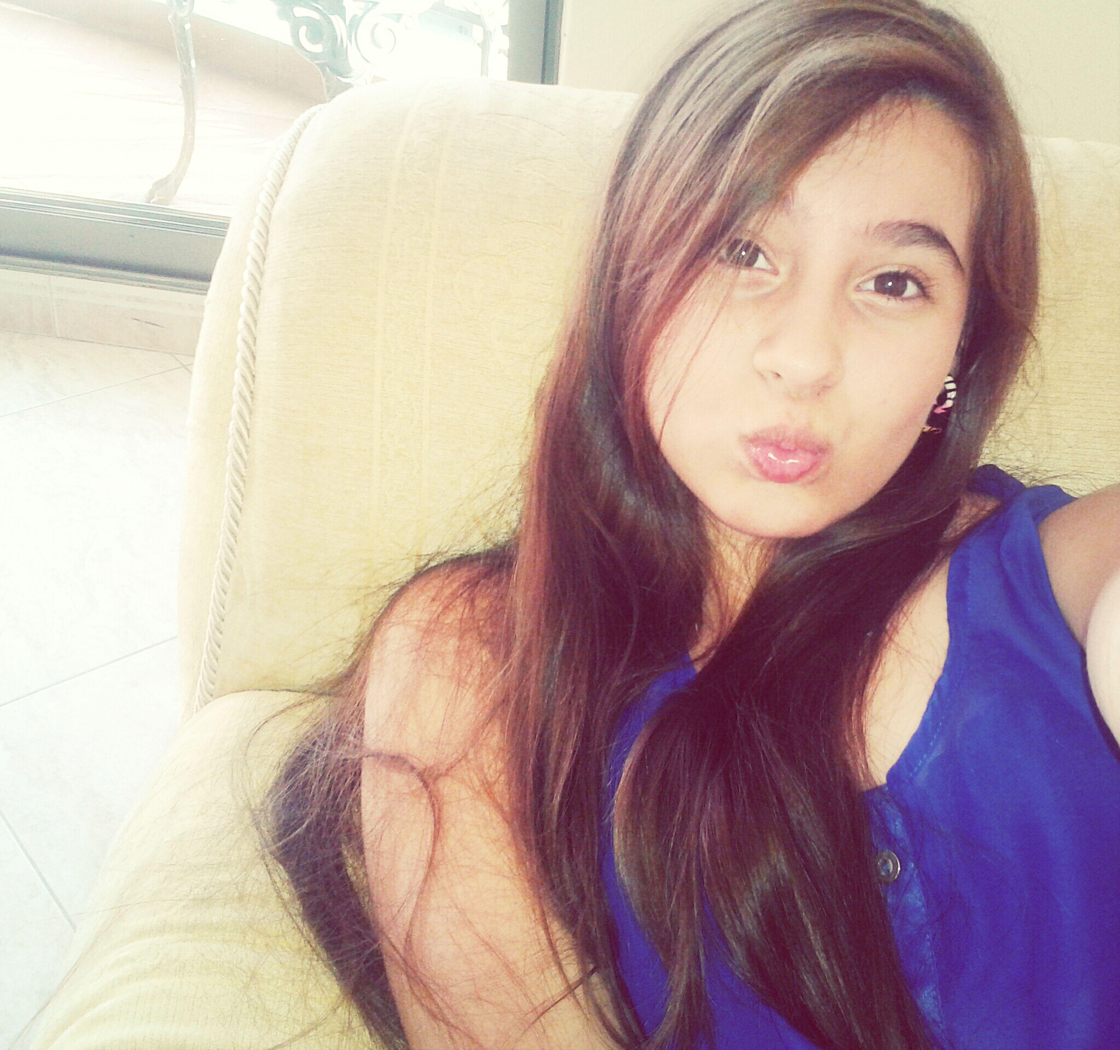 Muaaaaah <3 Am I Cuteee Now ? C:  Forever Alone :( Portrait