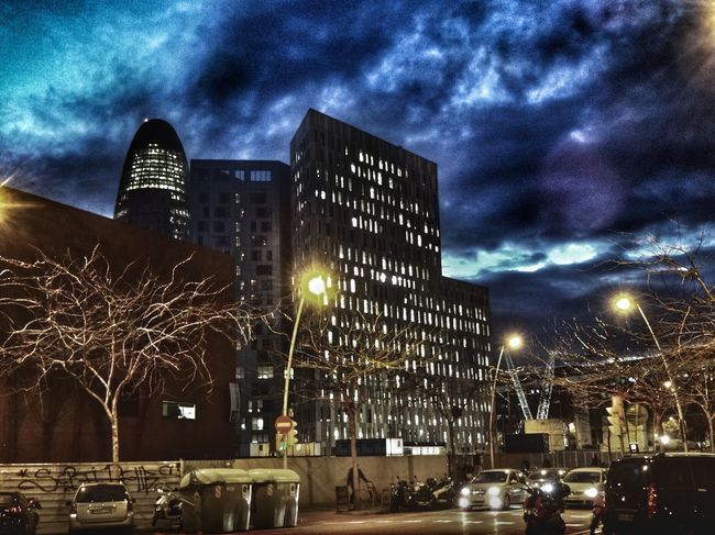 Nigth Ligths Streetphotography Catalunya