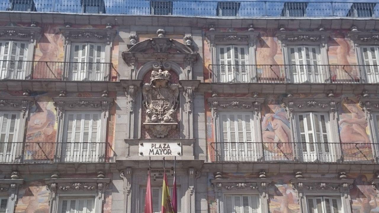 Casa De La Panadería 1590 Juan De Herrera