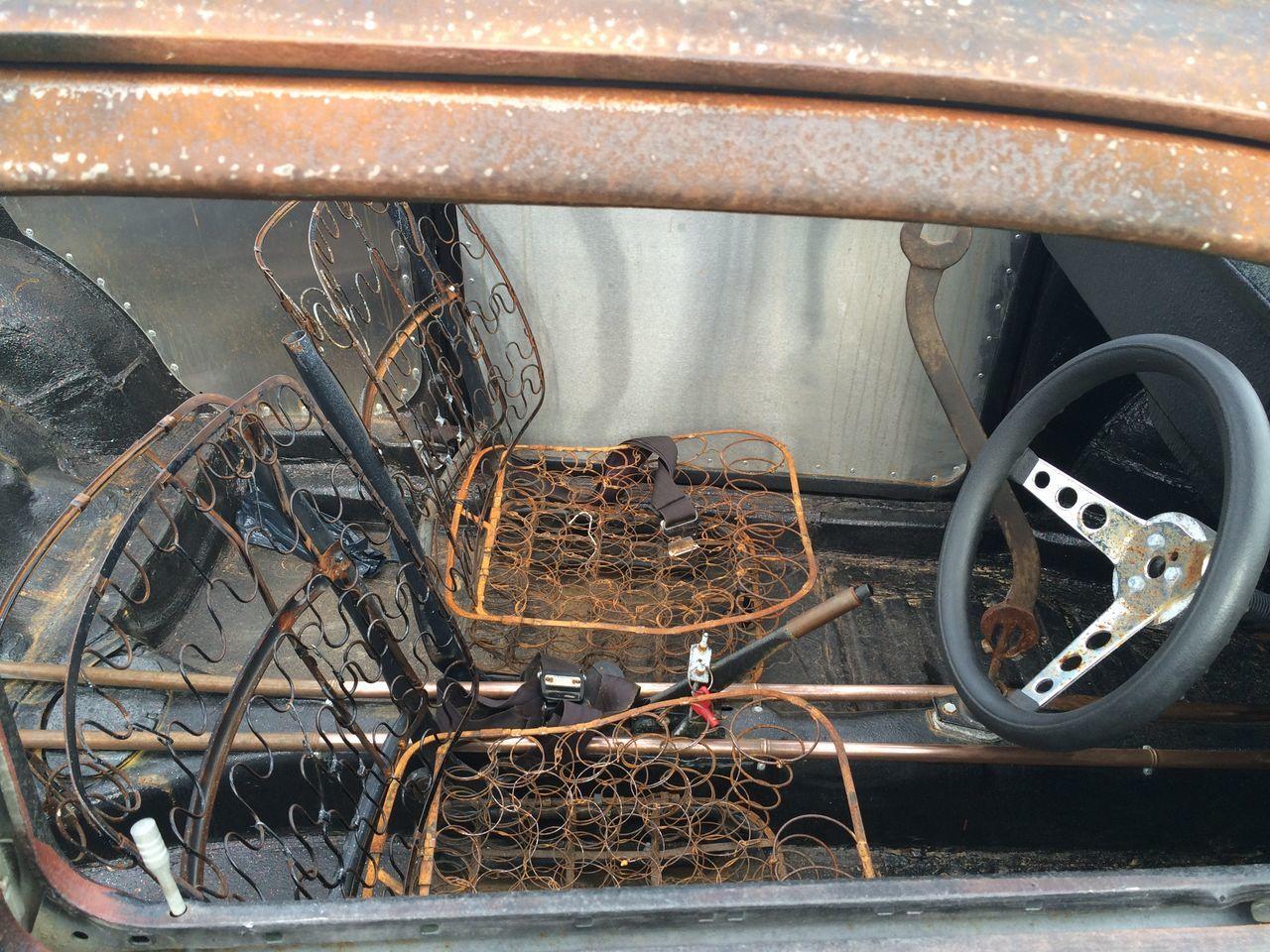V Dub Rusty Interior Vehicle Interior Motor Vehicle