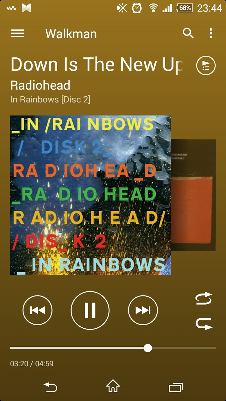 Music Sleepless Radiohead Good Music Down Is The New Up