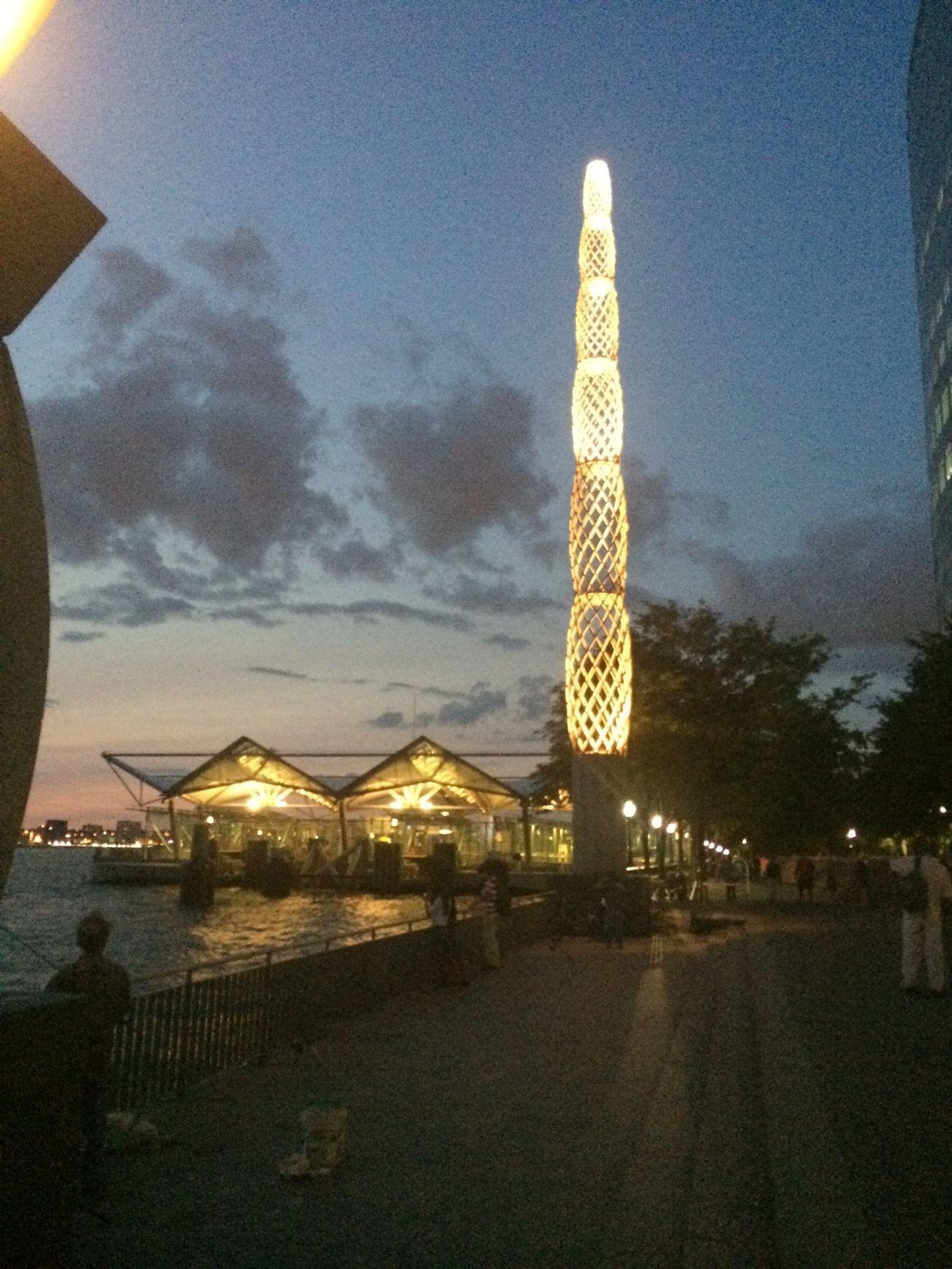 Hello World Ferry I Love My City Beauty