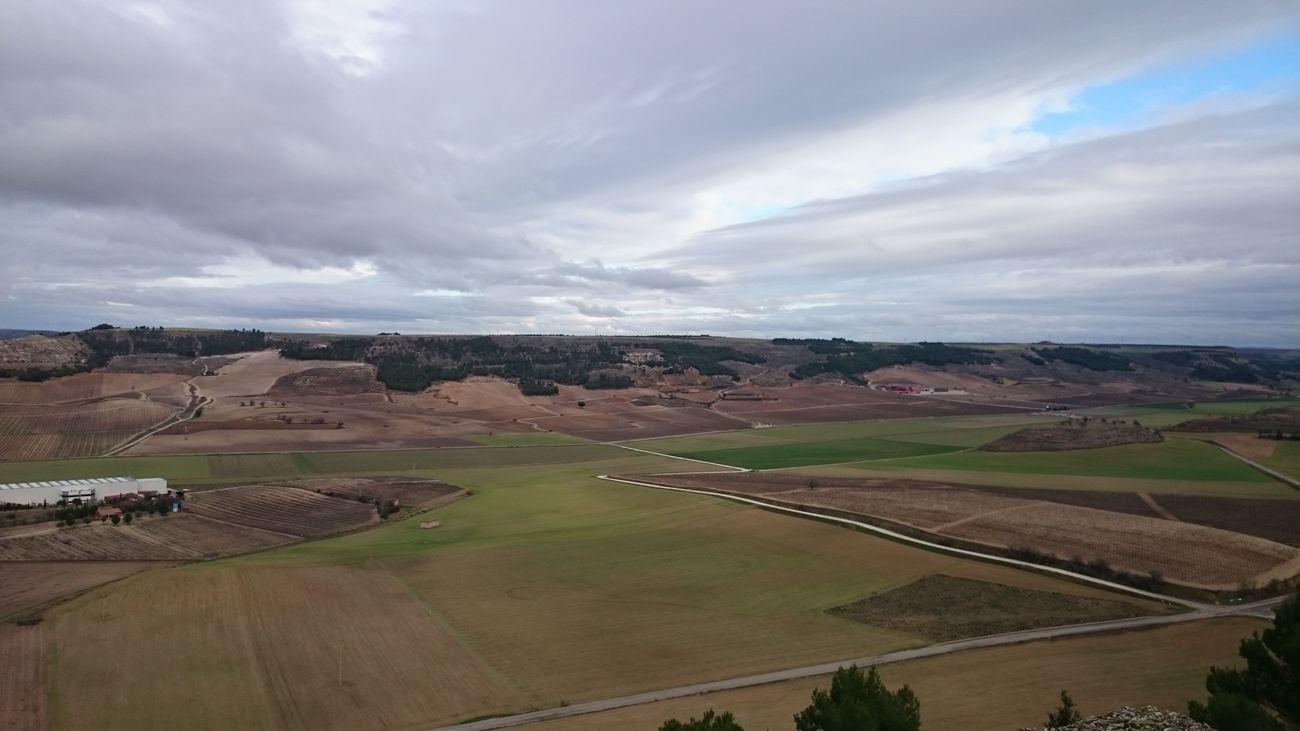 Una Vista muy Bonita desde el Castillo De Peñafiel