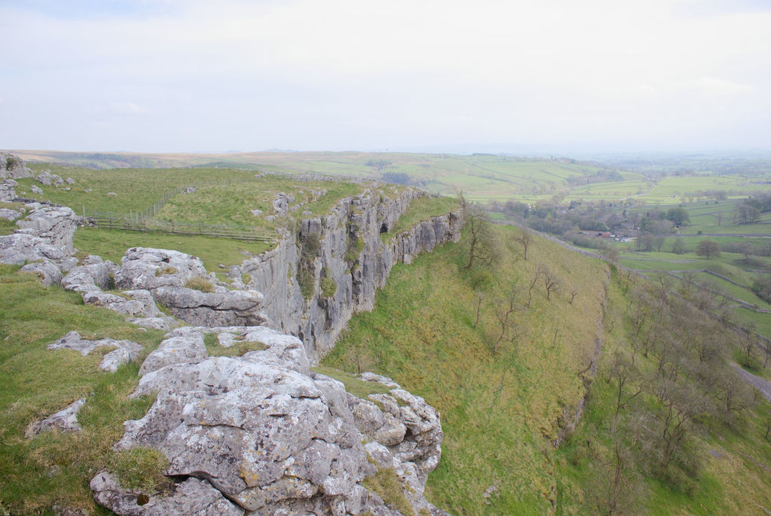 Landscape Nature Outdoors Beauty In Nature Tranquility No People Scenics Travel Destinations Day Tree Sky Malham Yorkshire Dales Uk Tranquil Scene English Countryside Malham Cove United Kingdom Yorkshire Dales Limestone Limestone Rocks The Great Outdoors - 2017 EyeEm Awards