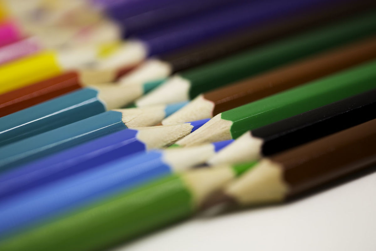 colored pencils | eyeem, Powerpoint templates