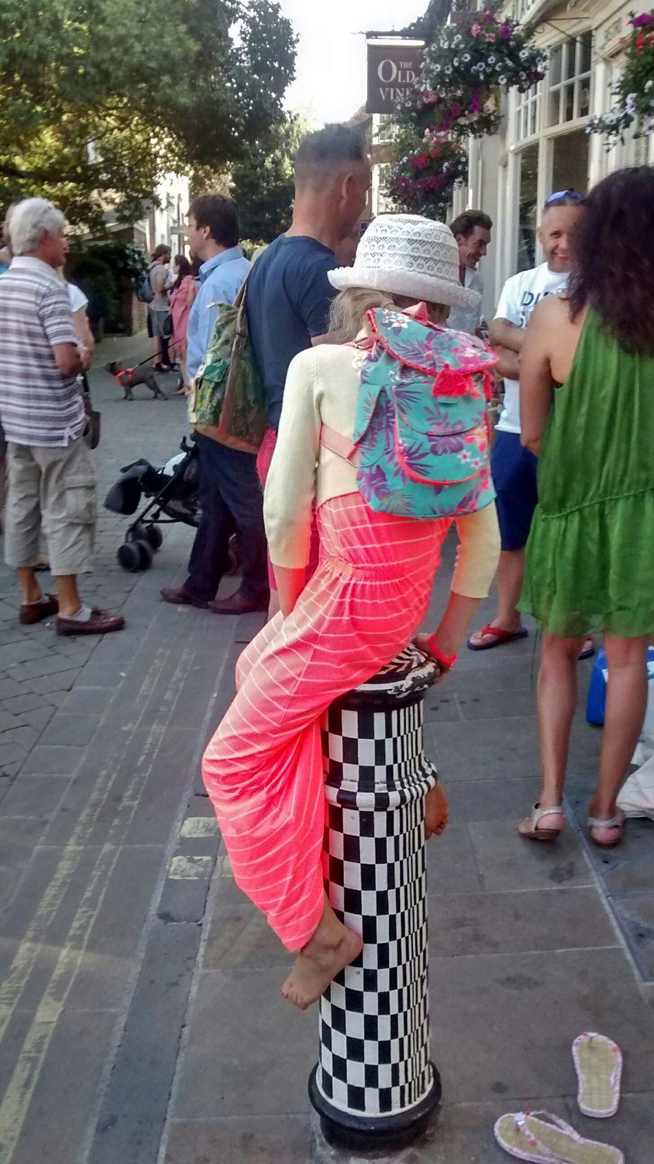 The Purist (no Edit, No Filter) Streetphotography Street Art Natural Coloursplash Hat Fair