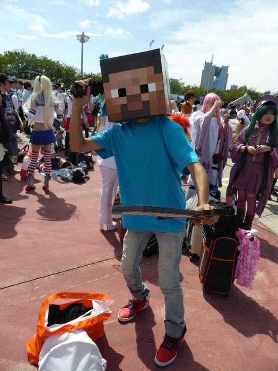 Anime Game Japan Minecraft コスプレ コミケ
