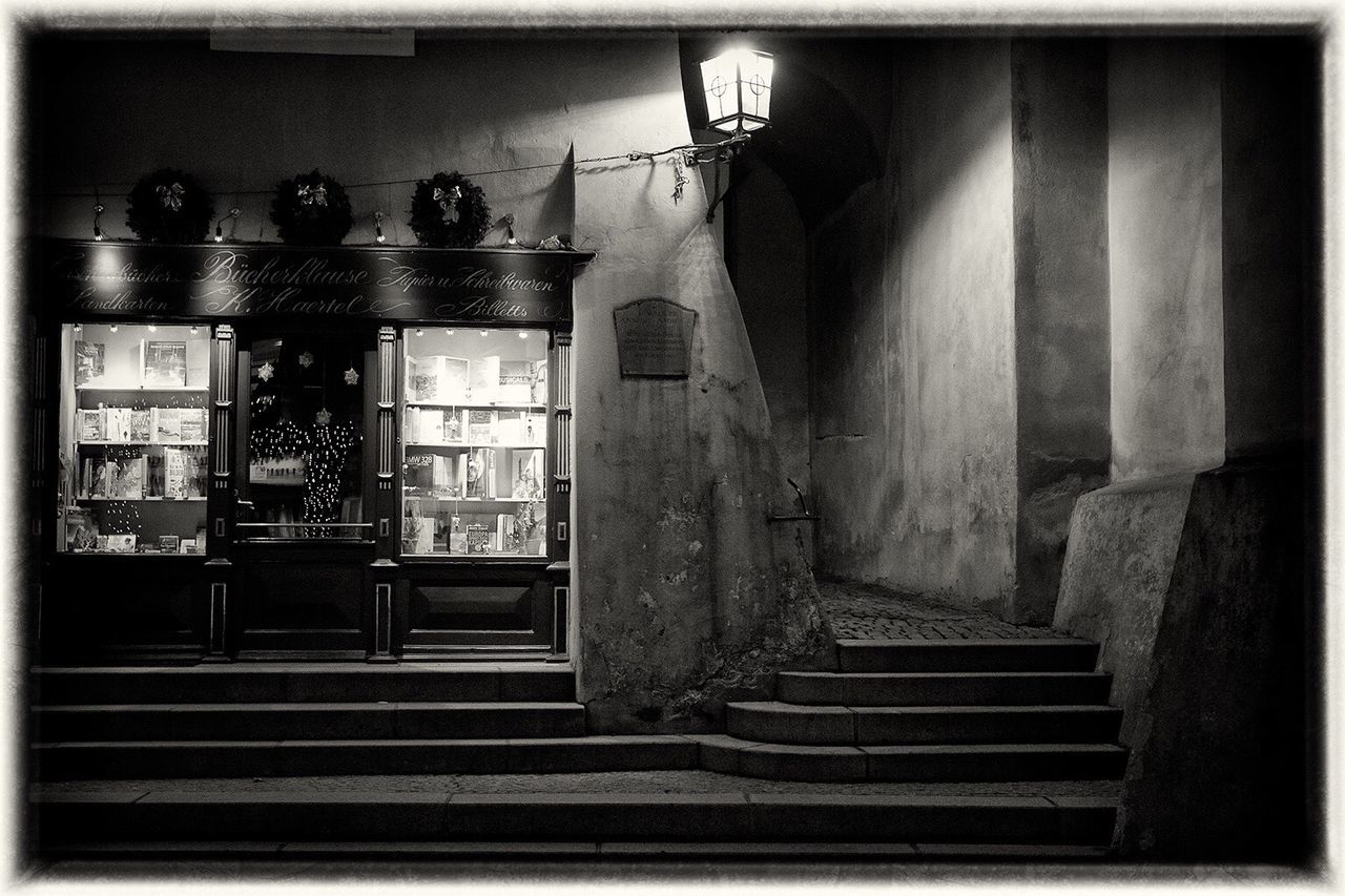 Winter Steps Steps And Staircases Tourism Travelling Home For The Holidays Black & White Travel Destinations Place Of Worship No People Spirituality Film Noir