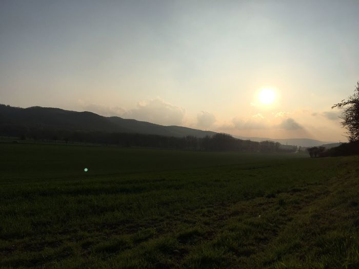 Sundown Landscape Beauty In Nature Dngrsdn