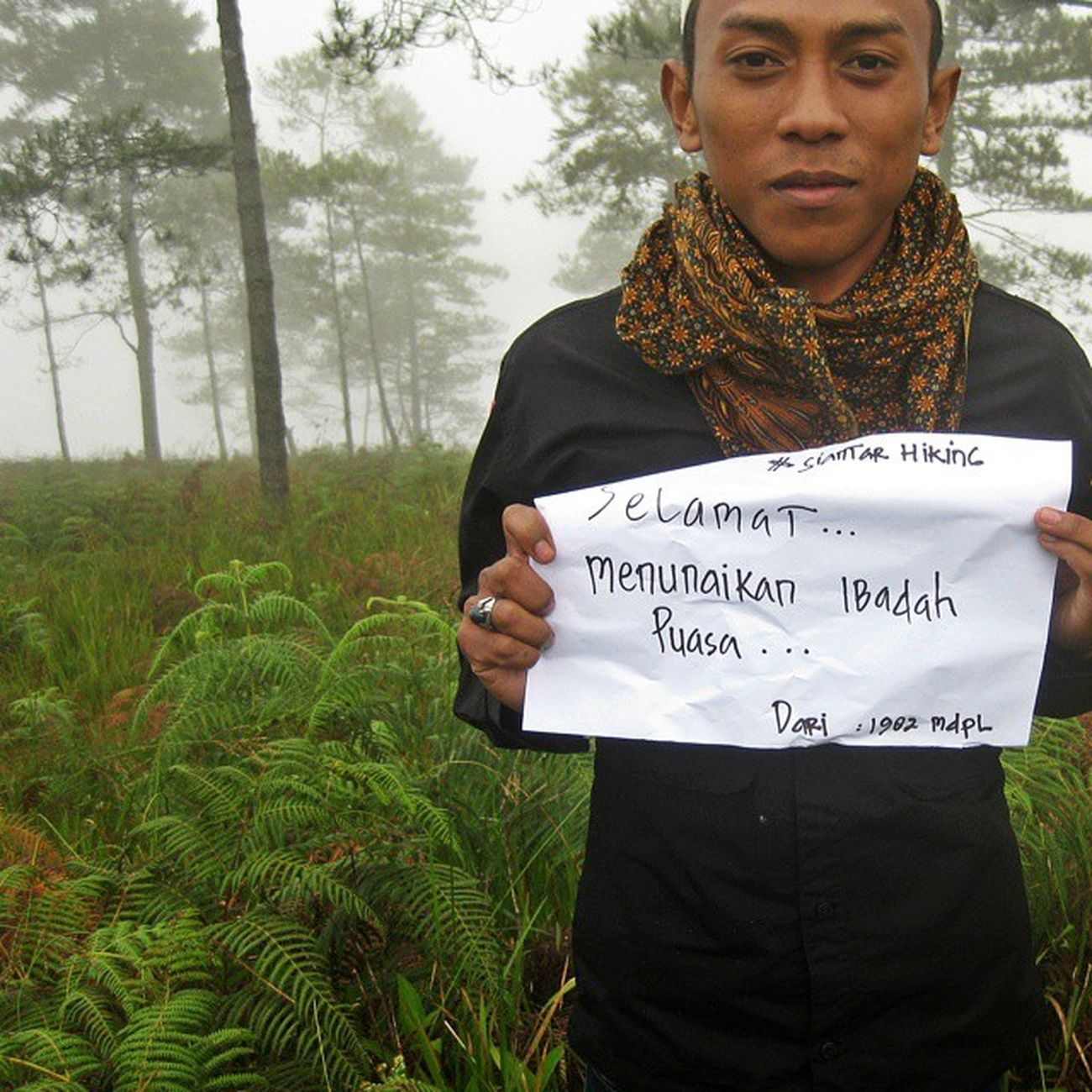 selamat menunaikan ibadah puasa di tahun ini Pusukbuhit SiantarHiking Samosir INDONESIA Ramadhan Puasa Muslim Adventure Pendaki Pencintaalamindonesia Bagpacker Loveindonesia Hiking Nature Sumutexplorer