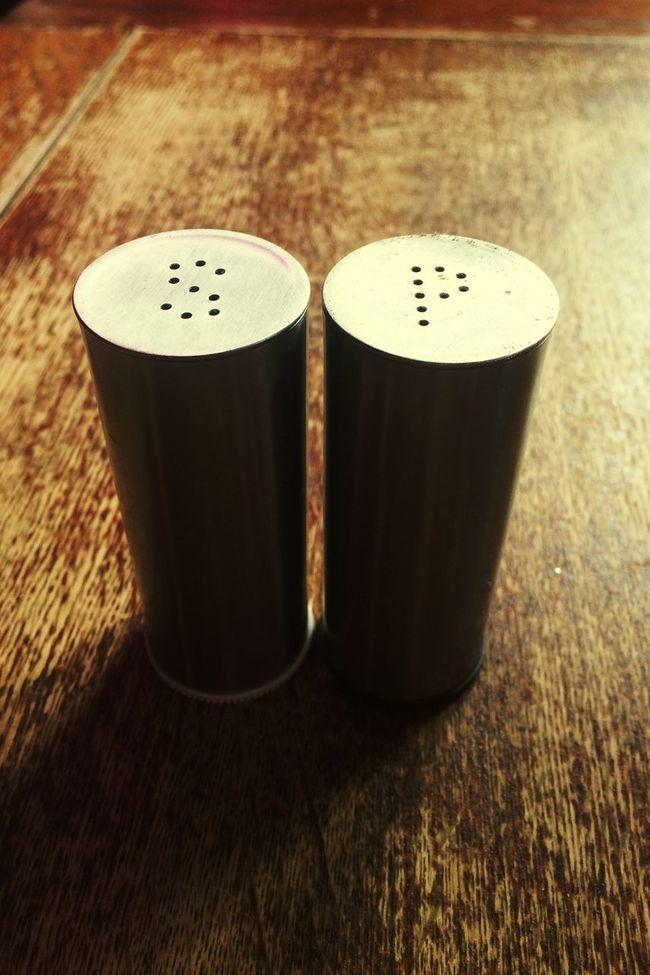 Smart Simplicity salt and pepper