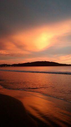 SantaMonicaGuarapa Sunset Sky And Clouds Beachphotography