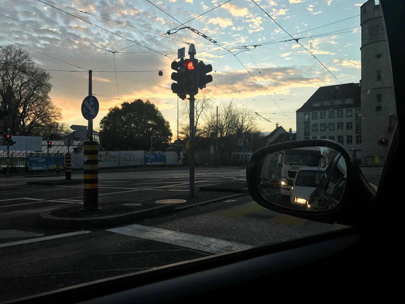 Basel my love ❤️ Sunrise Basel Photography Spalentor Onmywaytowork