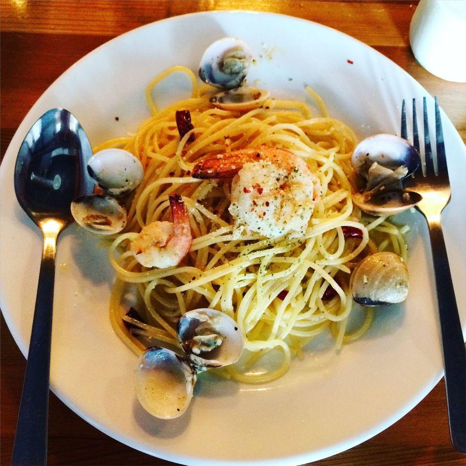 Life Food Lunch Spaghetti Aglio Olio Spaghetti <3 First Eyeem Photo
