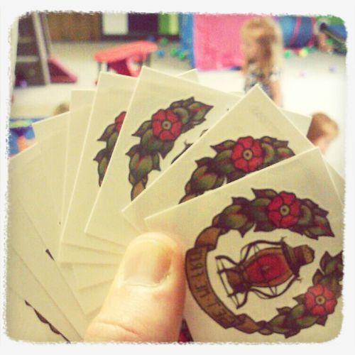 Eine Blume Stickers!!!