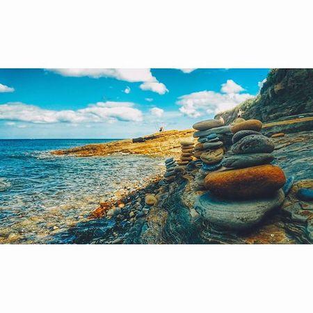Bythesea Pebbles Seashore Northumberland Explorenland CapturingBritain Ukpotd Ig_britishisles Icu_britain Fiftyshades_of_nature Landscape Landscapehunter