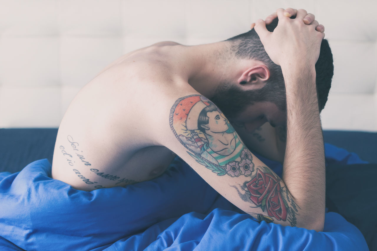 Beautiful stock photos of traurig,  20-24 Years,  Adult,  Day,  Depression - Sadness