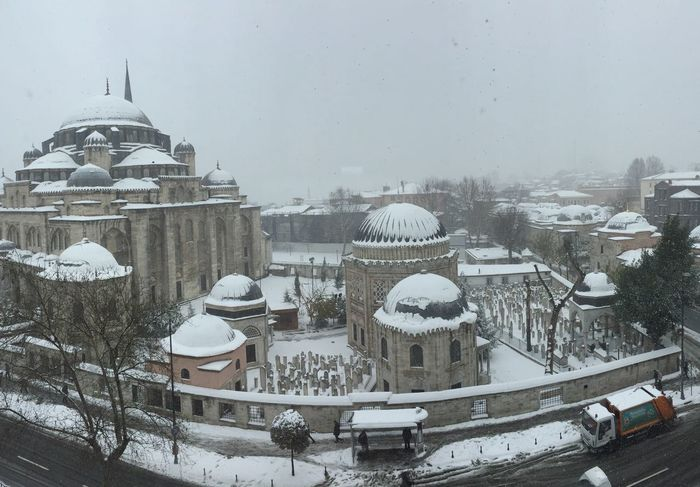 şehzadebaşıcamii Prince's Mosque Istanbul Turkey -XOXO!  Wonderful City Amazing_captures Snowday Muchlove