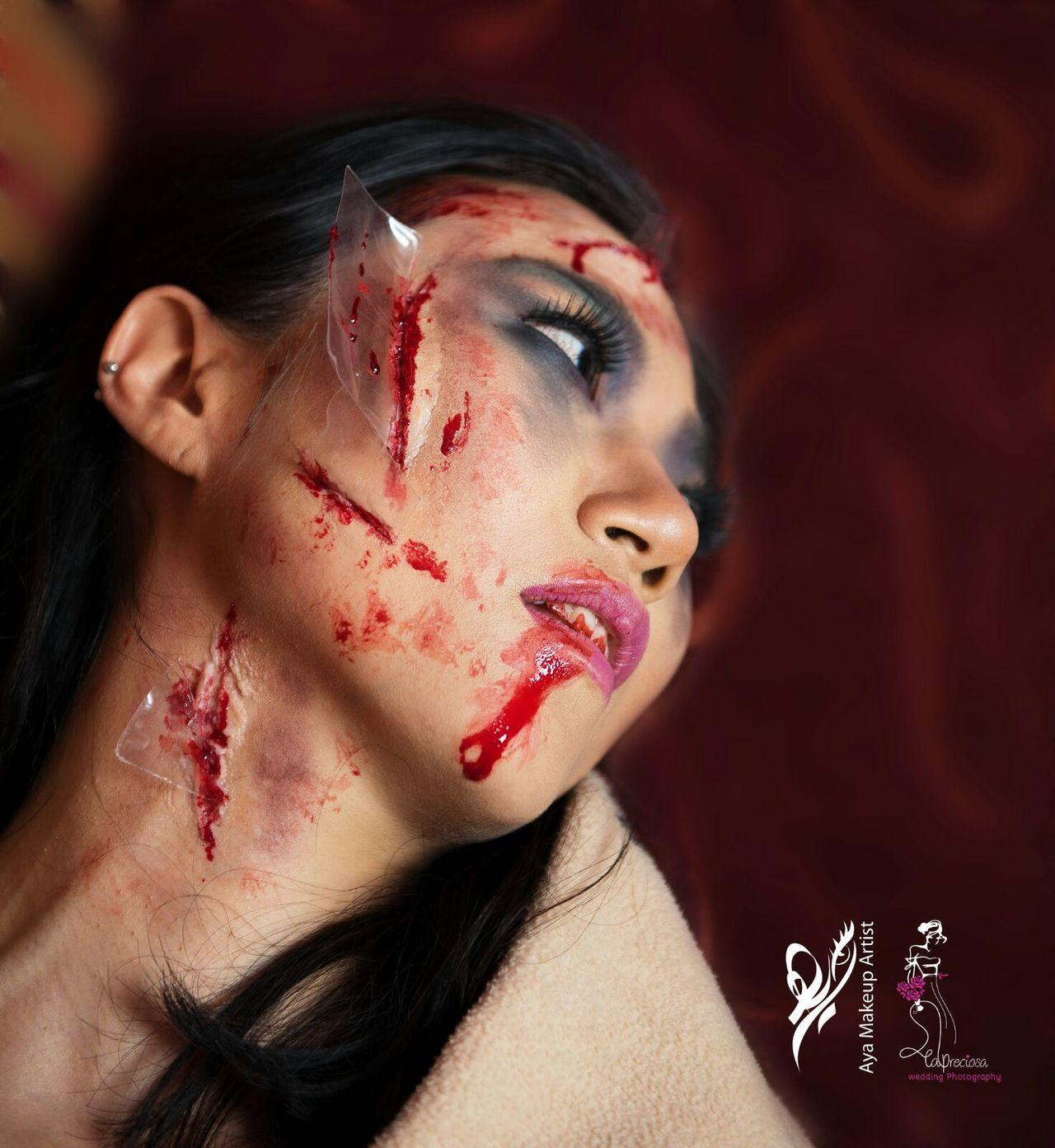 MakeupJunkie Blood Physical Injury Pain Makeupideas Makeup Art Cultures Makeuptransformation Makeupartist Portrait Blush - Make-up Human Body Part Makeup By Me Lifestyles Make-up
