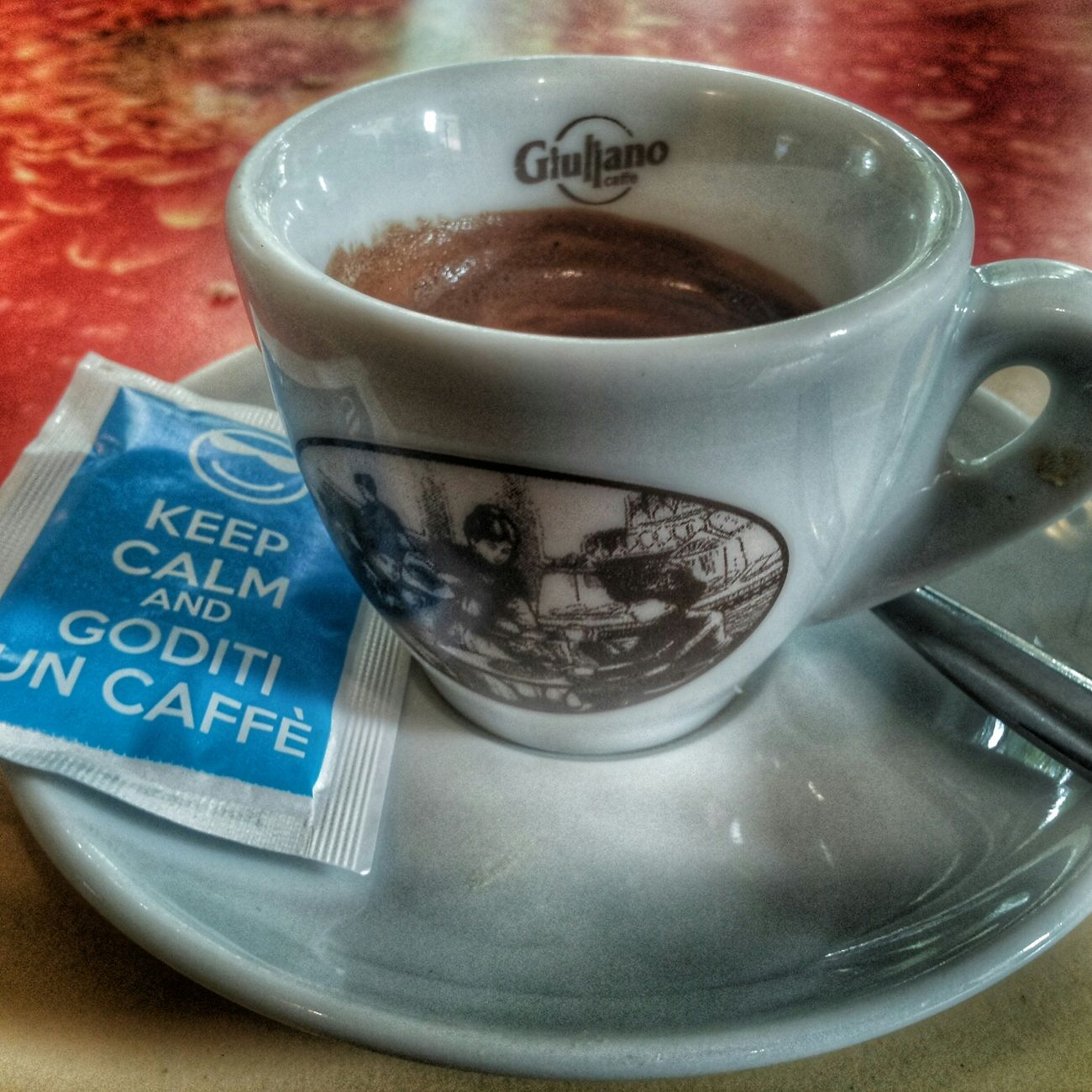 Keep calm and goditi un caffè Keep Calm Caffè Italia Torino Koffee Relax Summer Estate Joy Caldo