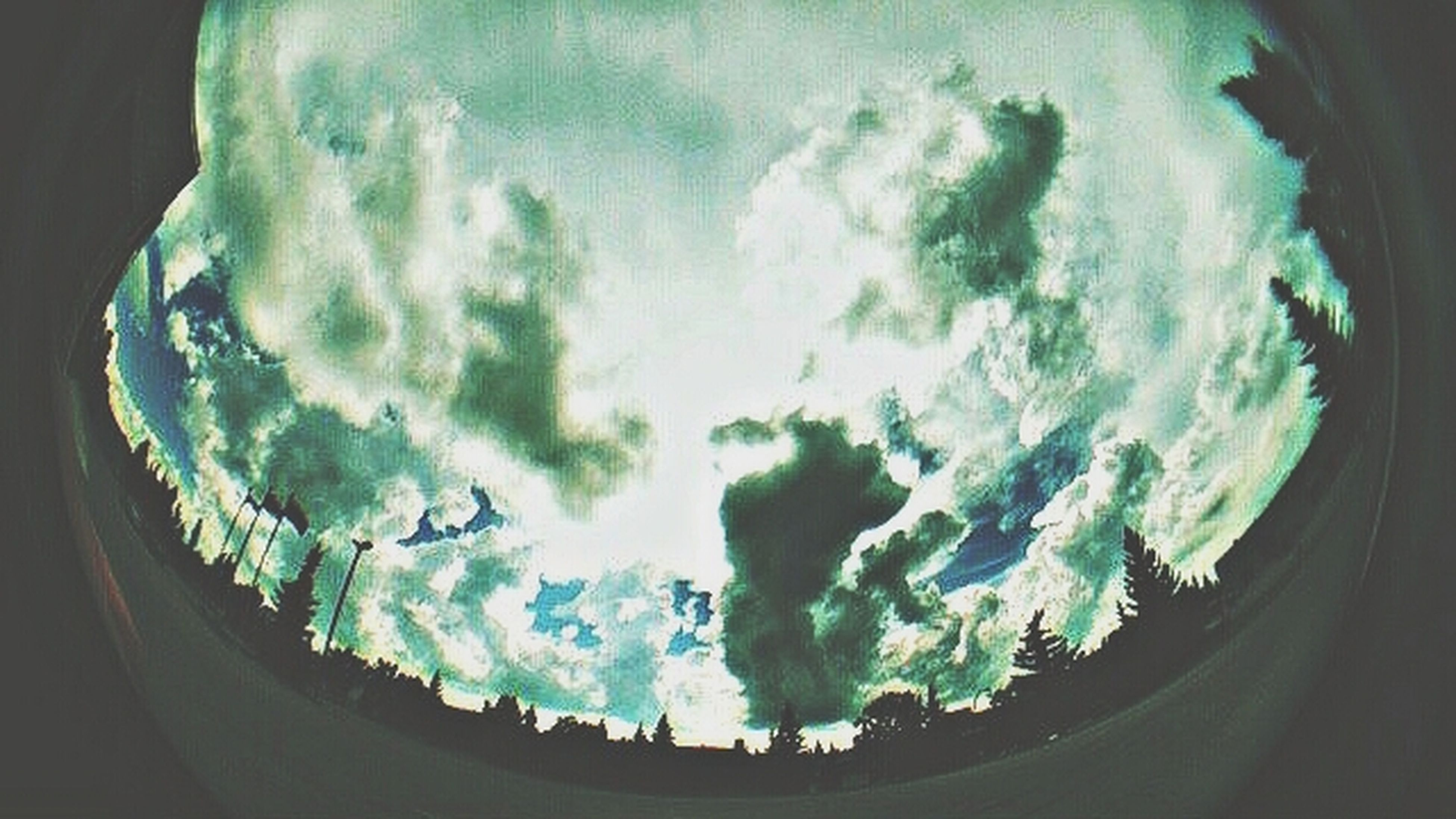 I never use this lens anymore. Fisheye Clouds Skyporn